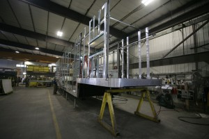 Race transporter in production