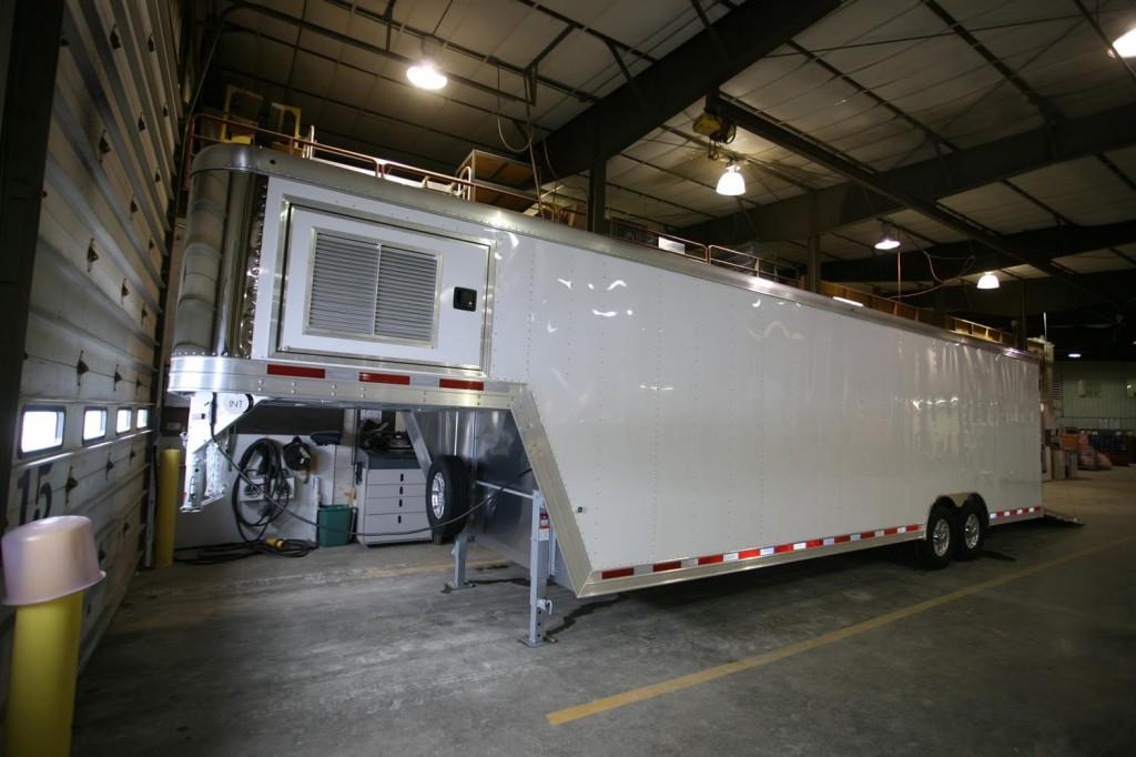 Research drying trailer