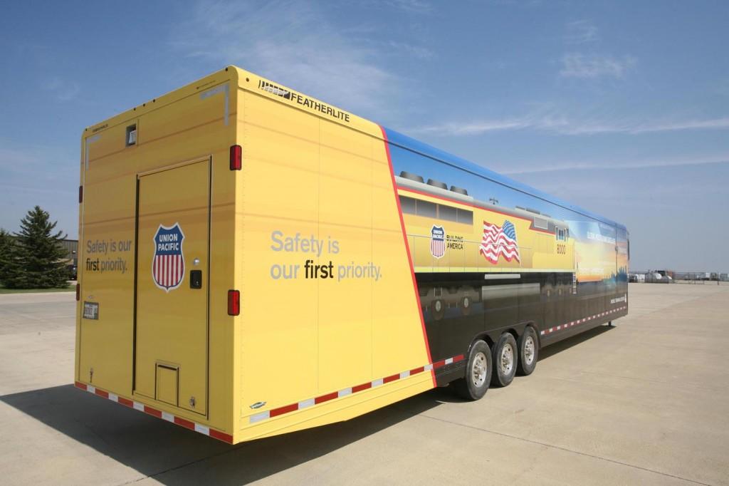 Union Pacific mobile classroom
