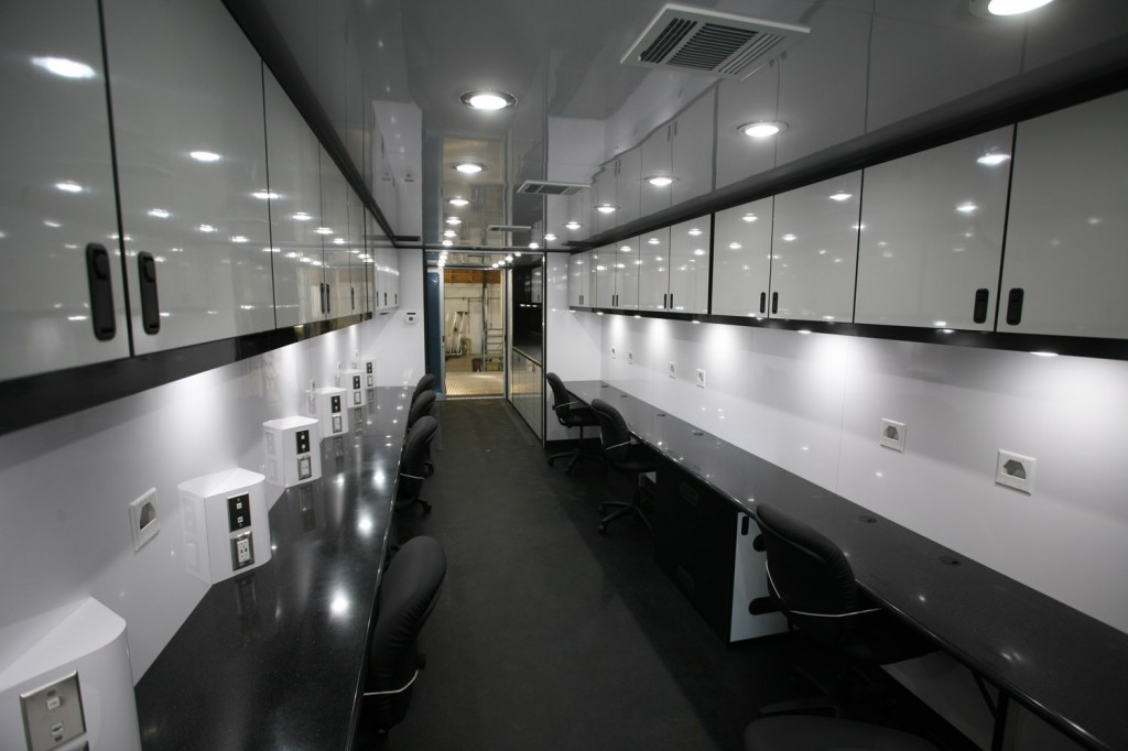 NASCAR office trailer