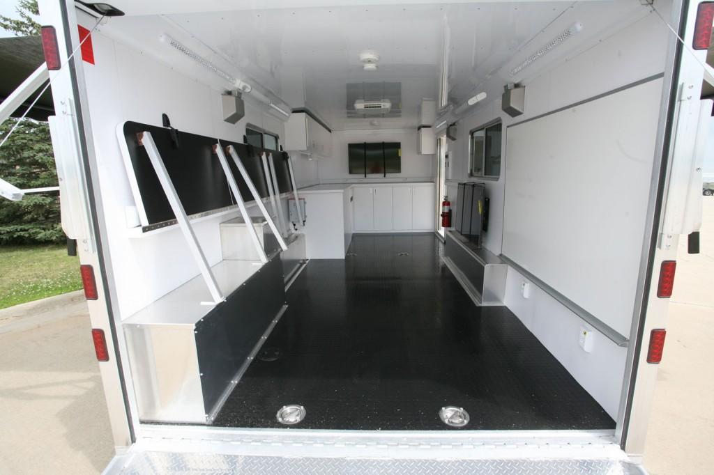 Mobile command center interior