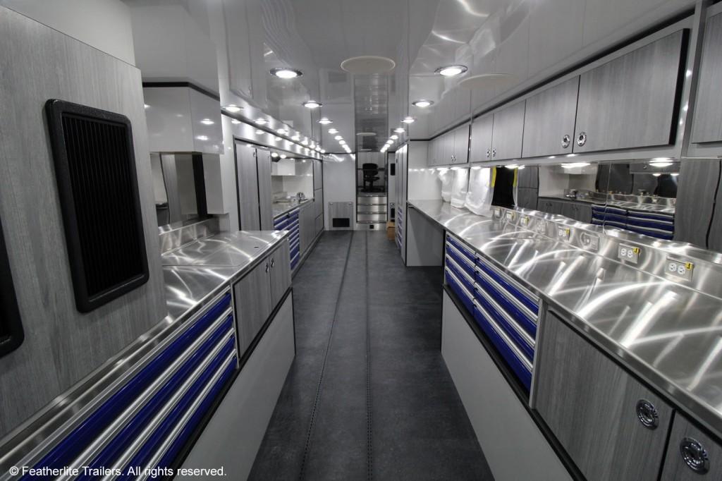 Yamaha Factory Racing interior