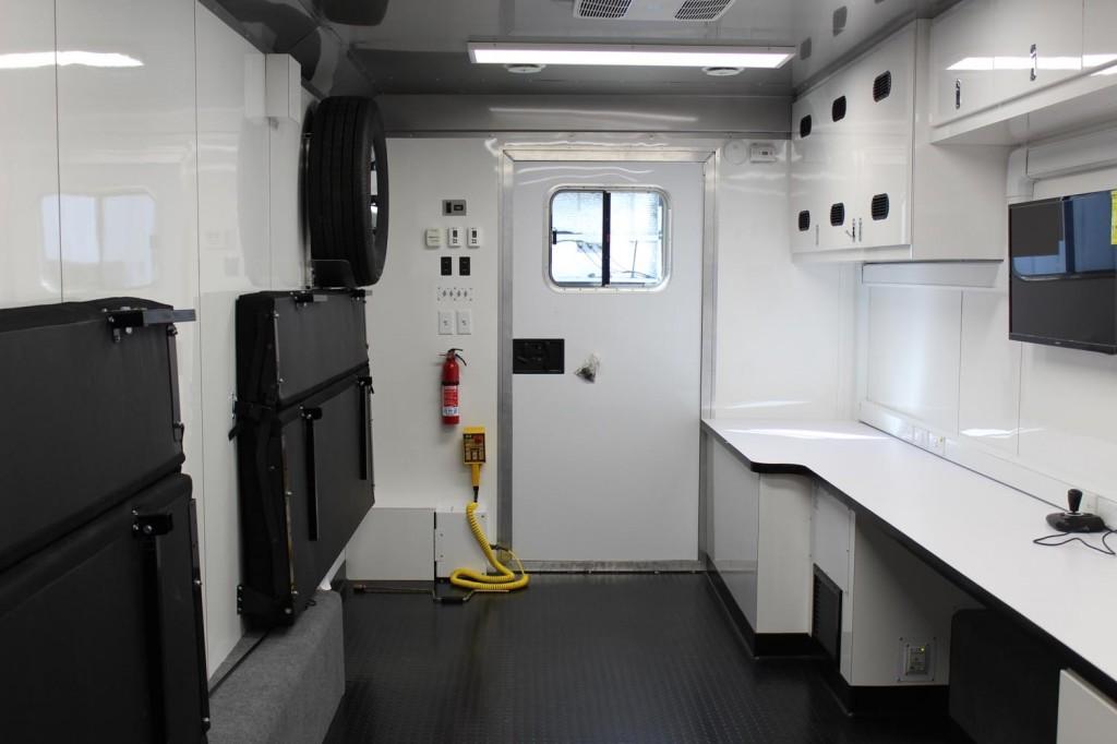 Worth County command center interior