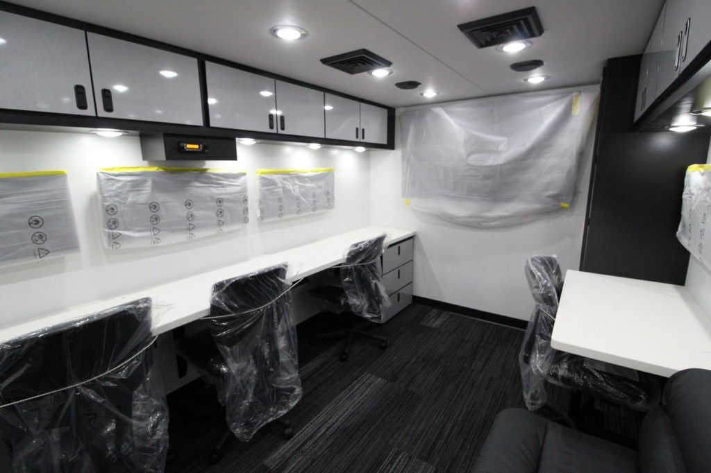 Joe Gibbs Racing interior