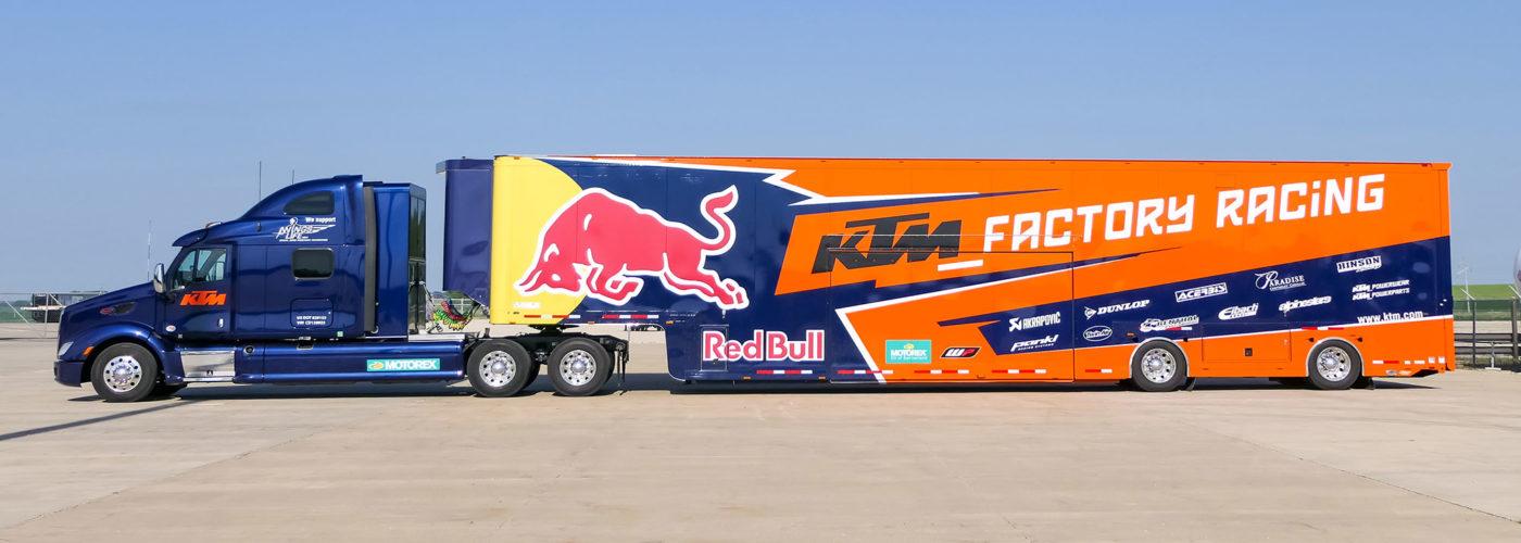 Race transporter - KTM Factory Racing