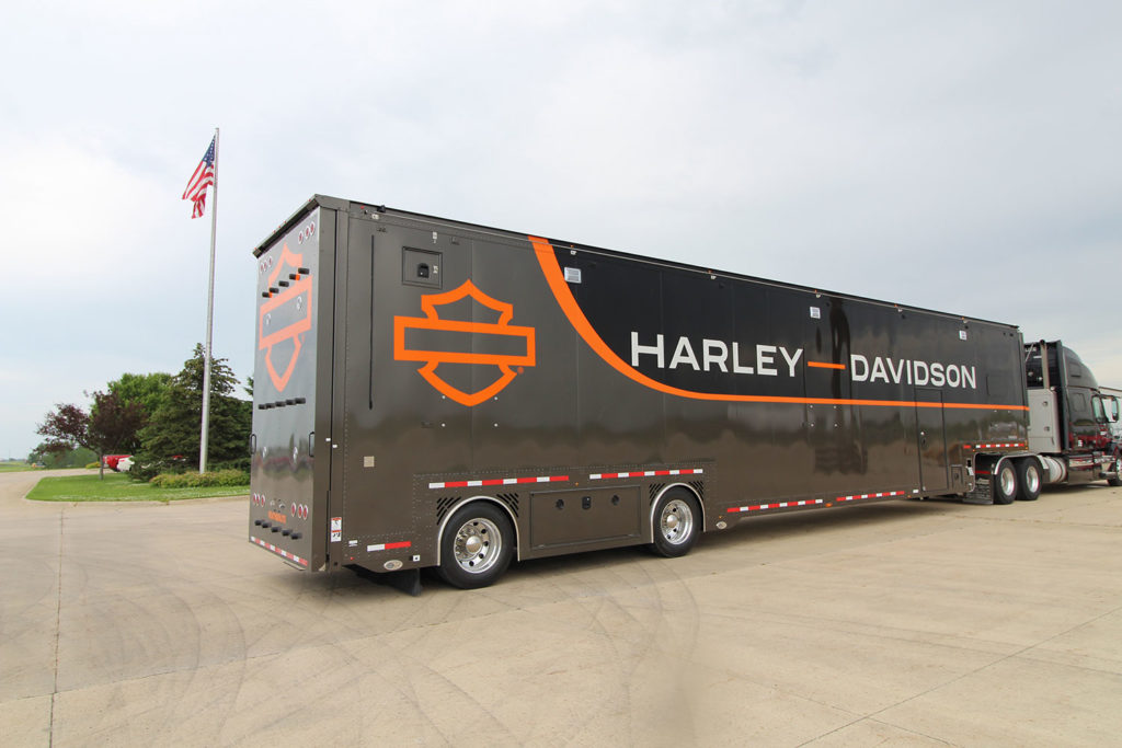 Motorcycle Hauler - Harley-Davidson