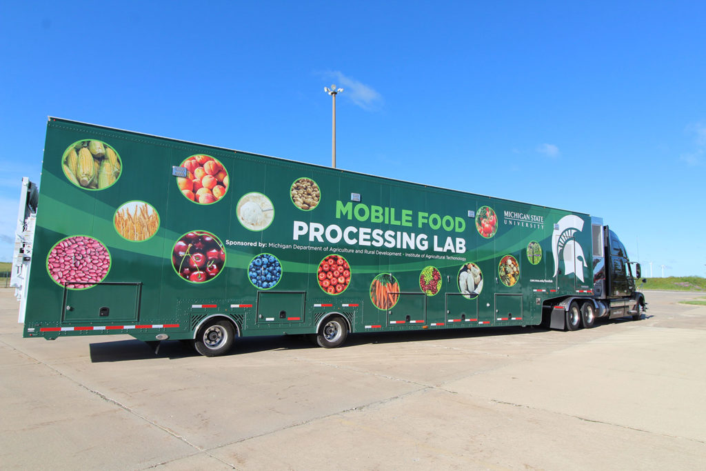 Mobile Food Processing Lab - Michigan State