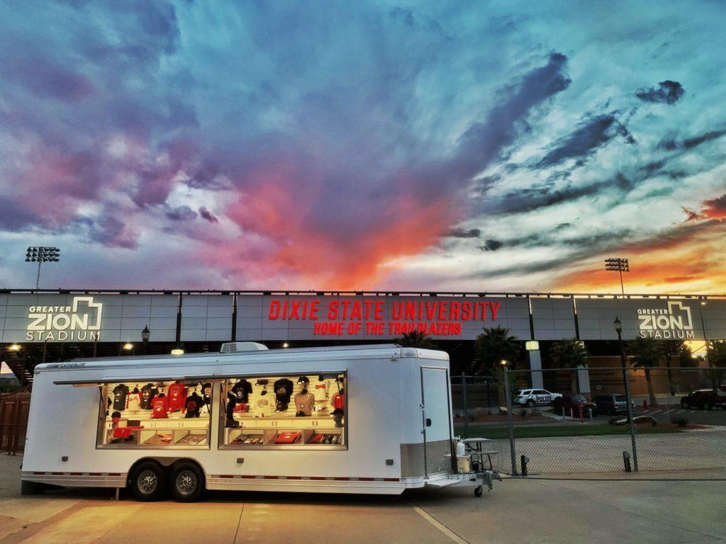 Dixie State University vending trailer