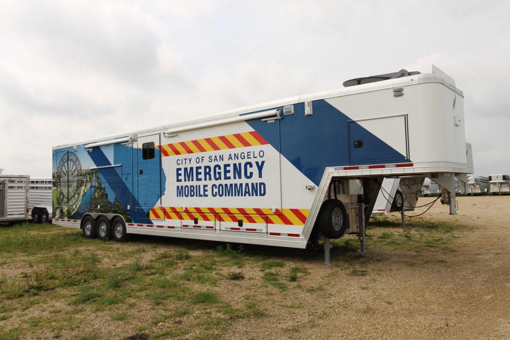 Mobile Command Center - San Angelo